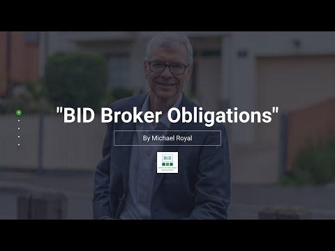BID Broker Obligations | BIR Solutions
