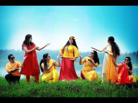 Sumithra's Colorful HALDI ceremony by FOTOWORLD HITECH STUDIO