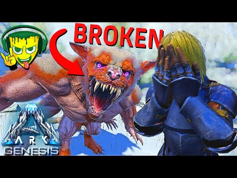 WILDCARD BROKE THE FEROX! UNTAMABLE WITH ELEMENT! NO MORE BERRIES! ARK GENESIS DLC