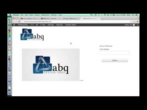 How to Create A Free Video Squeeze Page with Wordpress - Part 3 of 3