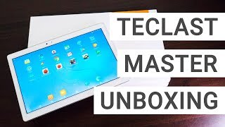 Teclast Master T10 Unboxing & Hands On: A Fast Tablet For 209$