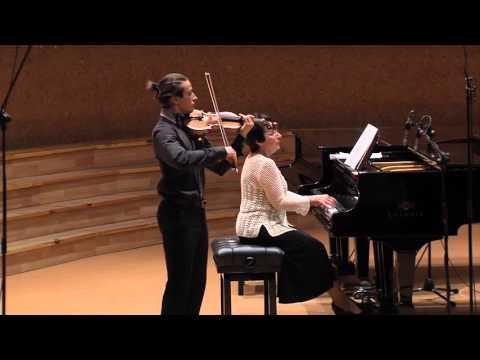 Andrejs Jegorovs (Latvia), X International Balys Dvarionas Competition for Young Violinists