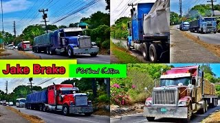 Jake Brake Compilation - Flatbed Edition #Jamaica Part 4
