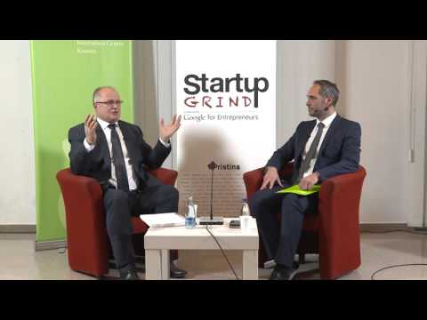 Startup Grind Prishtina Event 9 presented Ramiz Kelmendi (Elkos Group)
