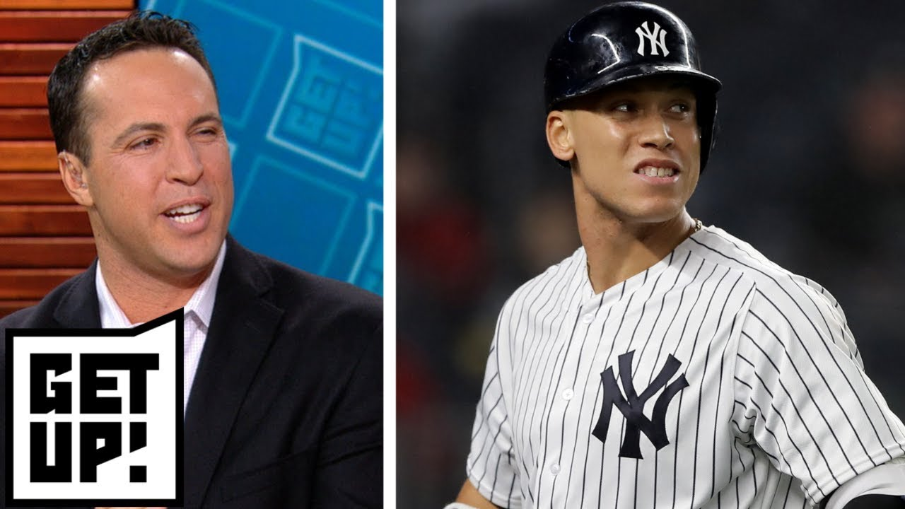 Did Aaron Judge jinx the Yankees by playing 'New York, New York' in Boston? | Get Up!