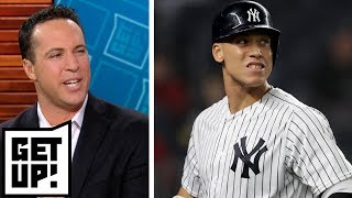 Did Aaron Judge jinx the Yankees by playing \'New York, New York\' in Boston? | Get Up!