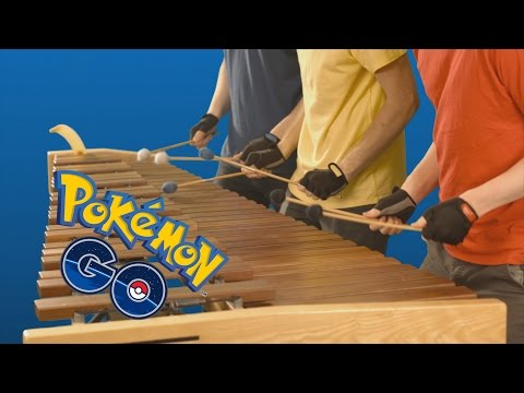 Pokémon GO - Theme on Marimba