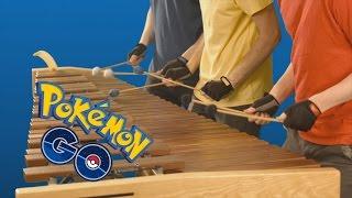 pokémon go theme on marimba