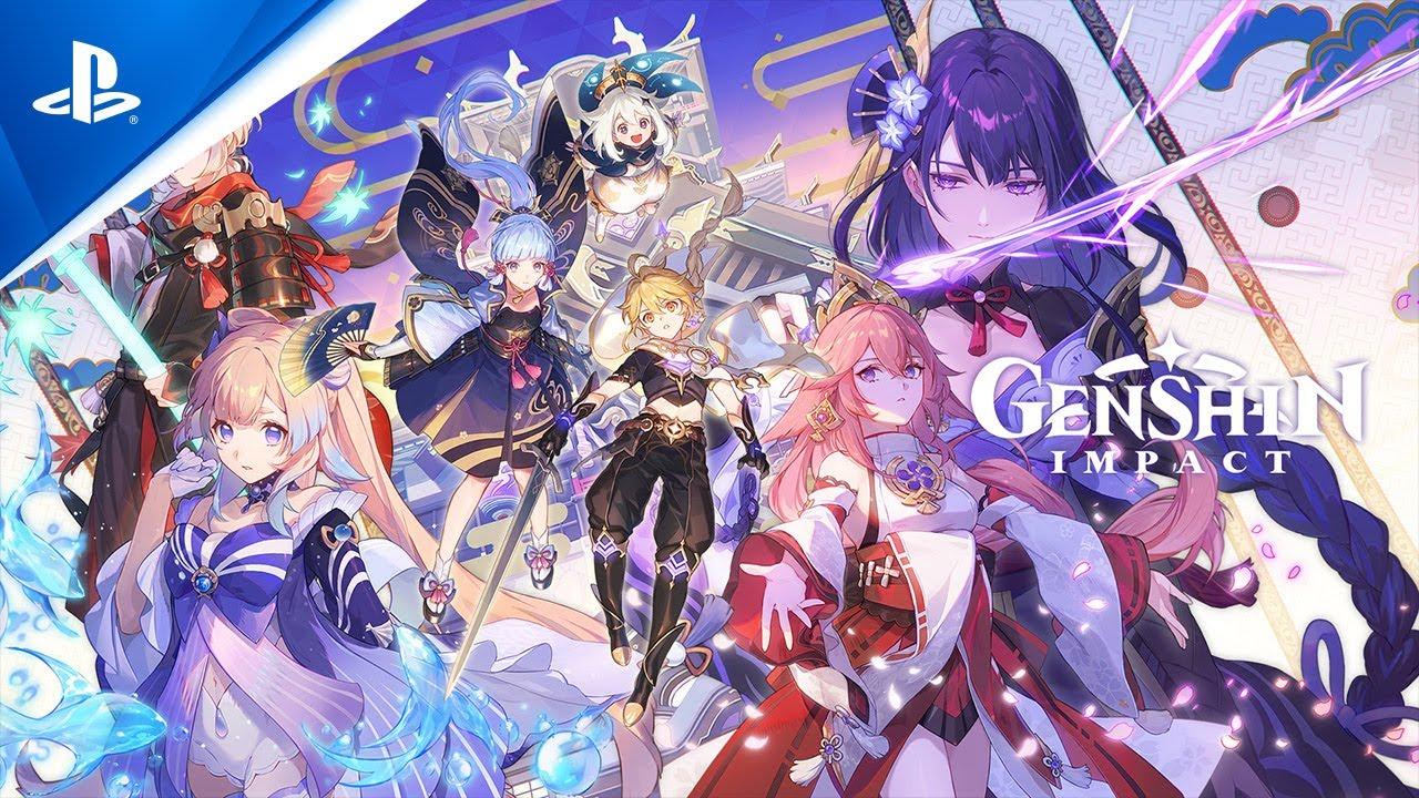 العرض التشويقي لآخر تحديث في لعبة Genhsin Impact