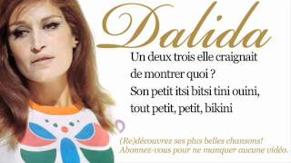 Dalida - Itsi bitsi petit bikini - Paroles (Lyrics)