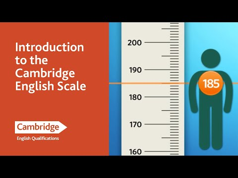 Introduction to the Cambridge English Scale