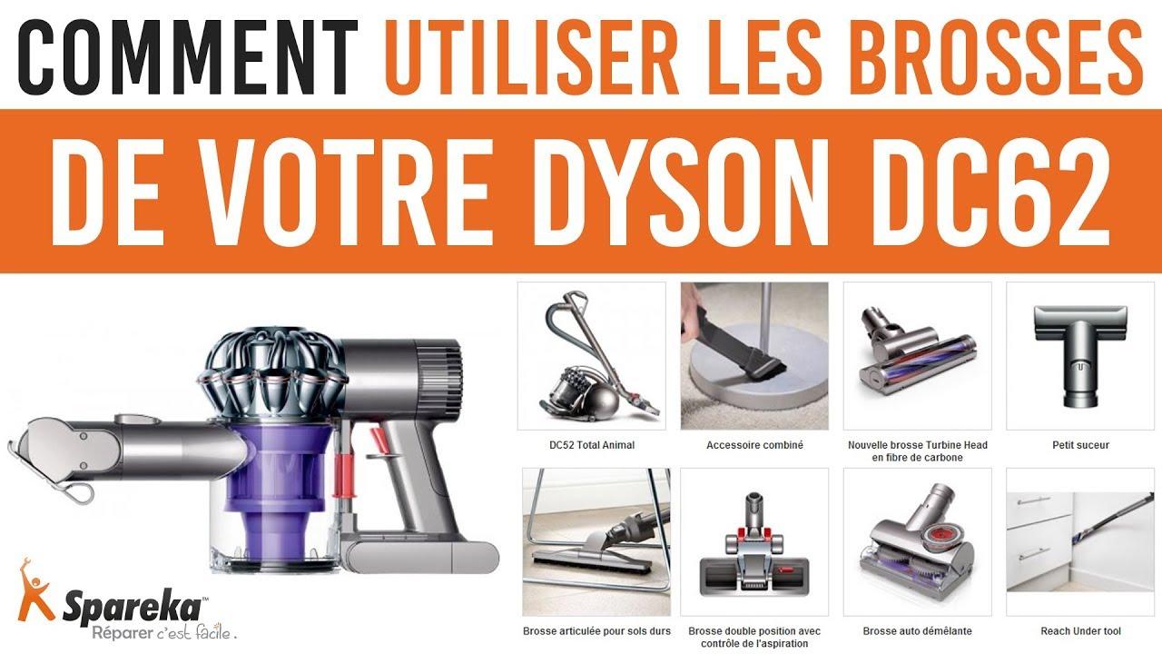 Comment utiliser les brosses de votre Dyson DC62   - YouTube d813f88c6295