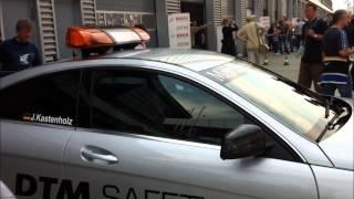 Mercedes C63 AMG Black Series DTM Safety Car 2012 Videos