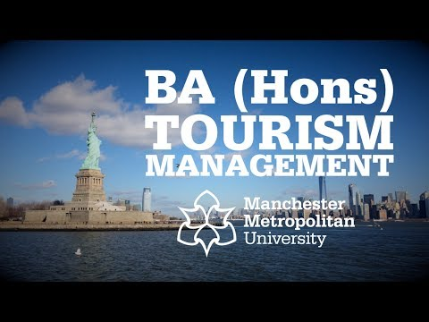 BA (Hons) Tourism Management | Manchester Met University