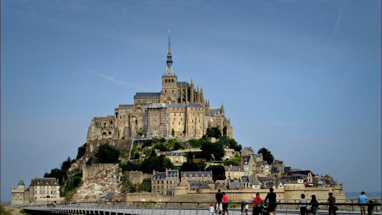 Souvent Mont Saint-Michel and Saint-Malo, Brittany, France - YouTube IP37
