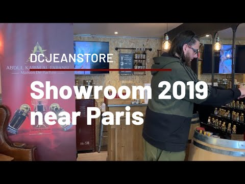 Showroom at DCjeanstore / France trip 2019 Part 4