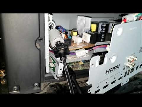 HDMI NOT WORKING WD92840 MITSUBISHI SERVICE REPAIR DIY