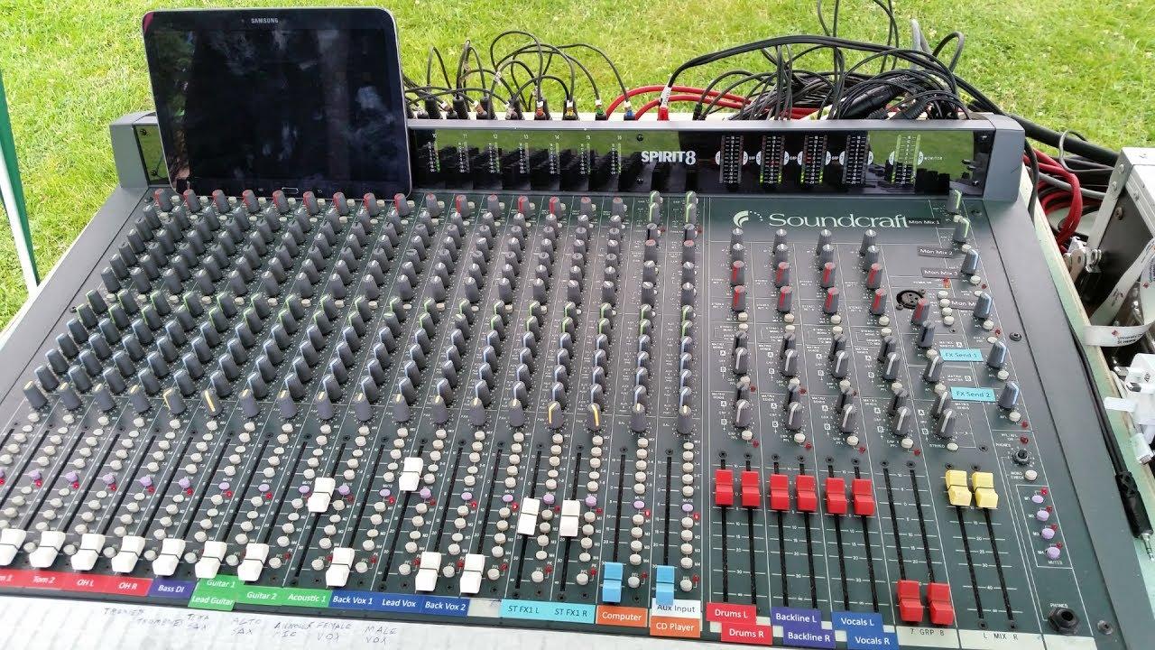 Soundcraft Spirit 8 16 8 2 Mixing Console Restoration