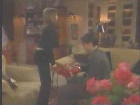 General Hospital - 1997 Alan and Monica on Valentine's Day 1
