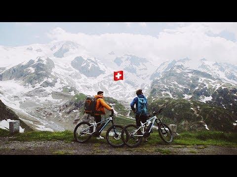 We Bike Across Switzerland... New Vlog Format
