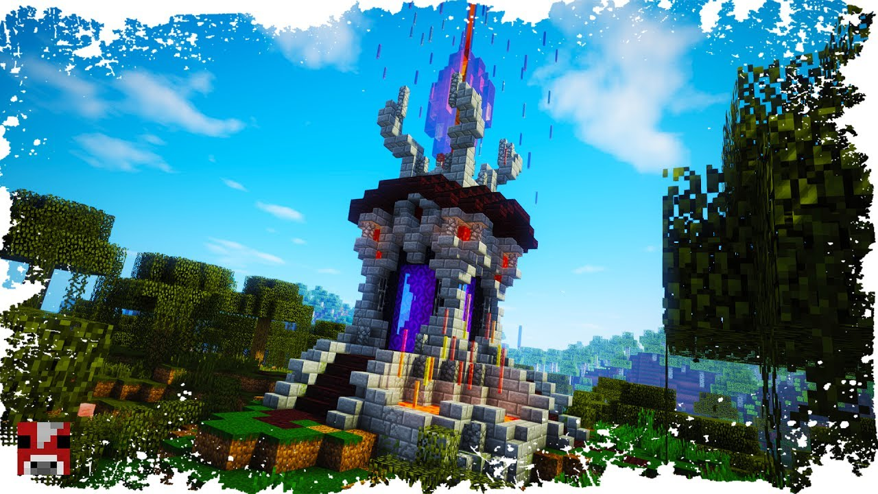 Minecraft How To Build A Portal