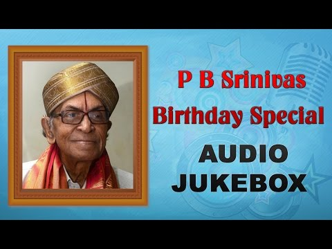 P.B. Srinivas Telugu Hit Songs Jukebox | Birthday Special | Best Telugu Songs Of All Time