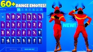 * NEU* Getarnter SCHATTENSKIN! Mit all NEW DANCE Emotes SHOWCASE! Fortnite Battle Royale