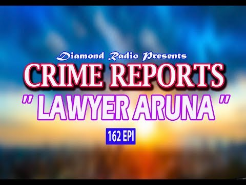CRIME REPORTS 162 EPI DIAMOND RADIO