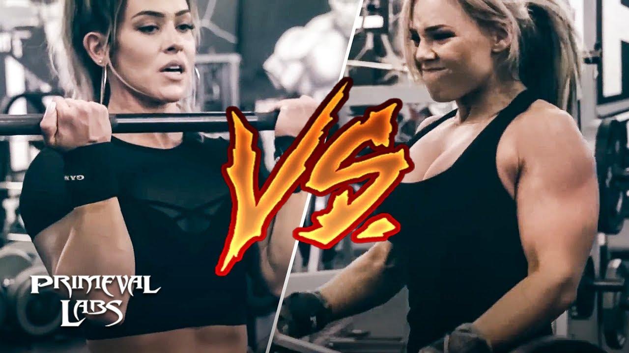 Biceps Curl Arms Challenge | StephFitMum VS Cassandra Martin