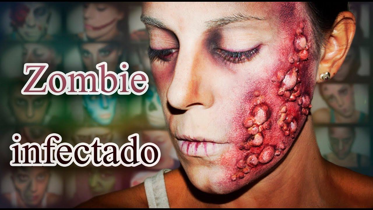 Jamie Lee Curtis Maquillaje Halloween Zombie Infectado Efectos Especiales