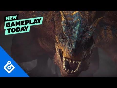 New Gameplay Today – Monster Hunter World: Iceborne