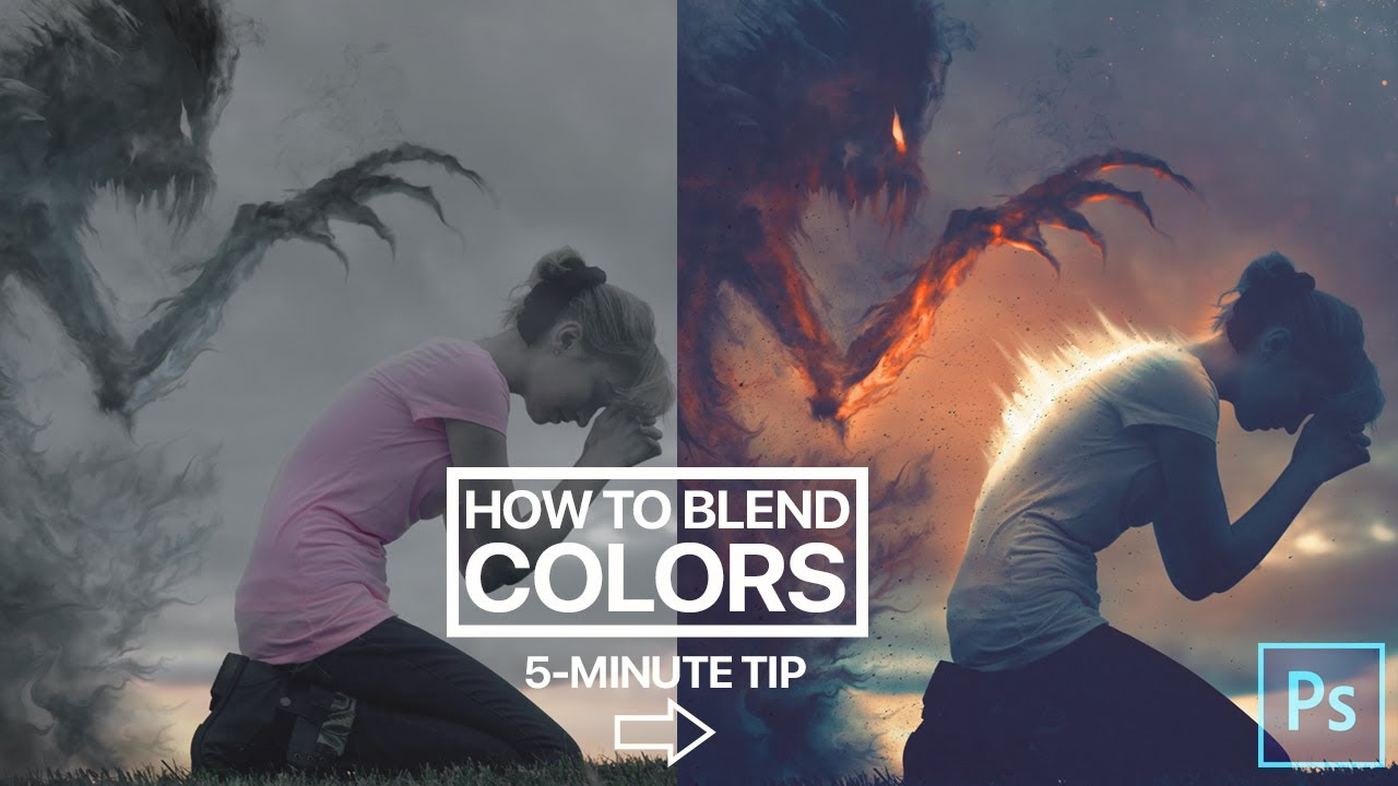 Photoshop Quick Tip - Blending Colors