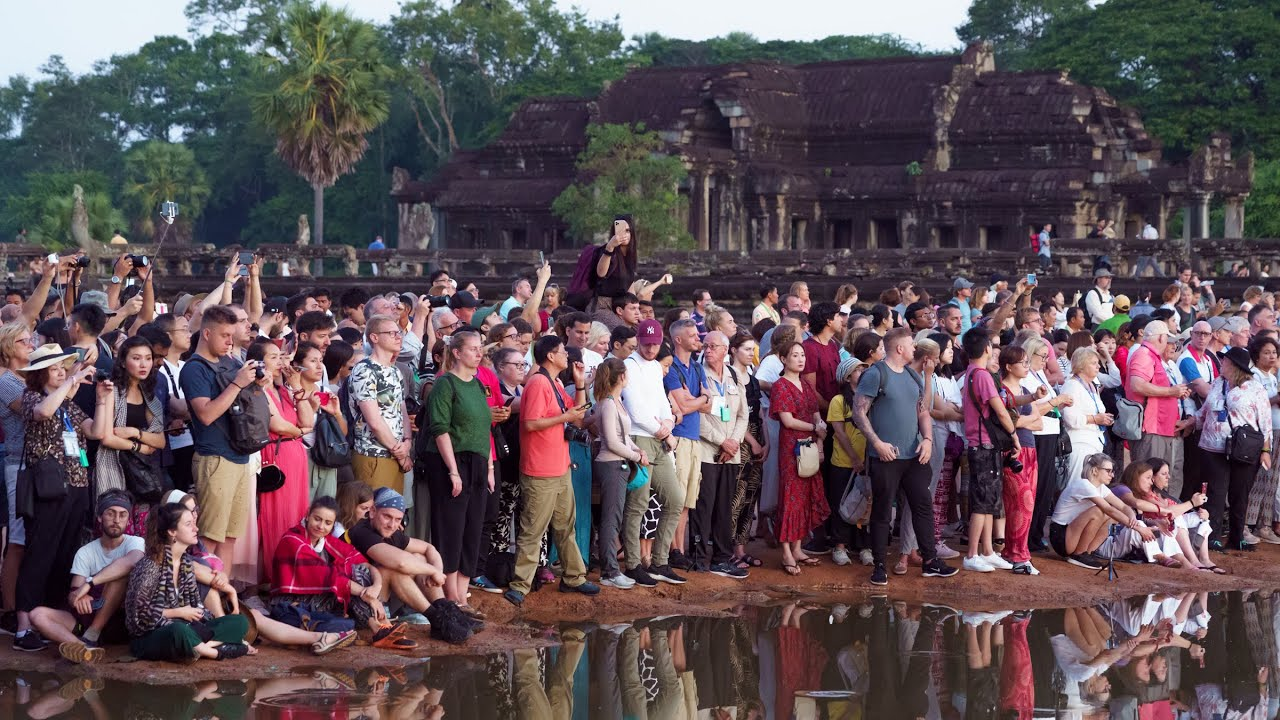Angkor Wat Cambodia Sunrise Tour and Travel Tips with Club Adventures