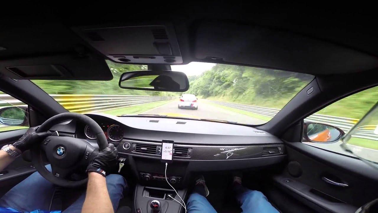 BMW M3 GTS VS BMW M5 F10 Ring Taxi Nrburgring