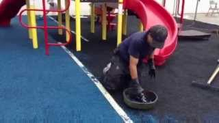Pour In Place Rubber, Playground Surfacing