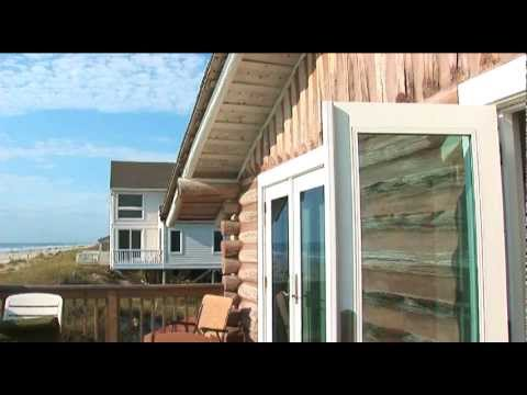 Rental Log Cabin On The Beach On Amelia Island, Florida
