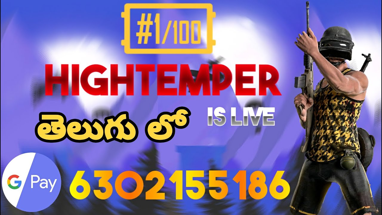 Thanks for 1500 subscribers | pubg mobile live in Telugu