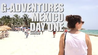 Playa del Carmen, Mexico | Checking into our hotel on 5th Ave! | Central America Travel Vlog E50