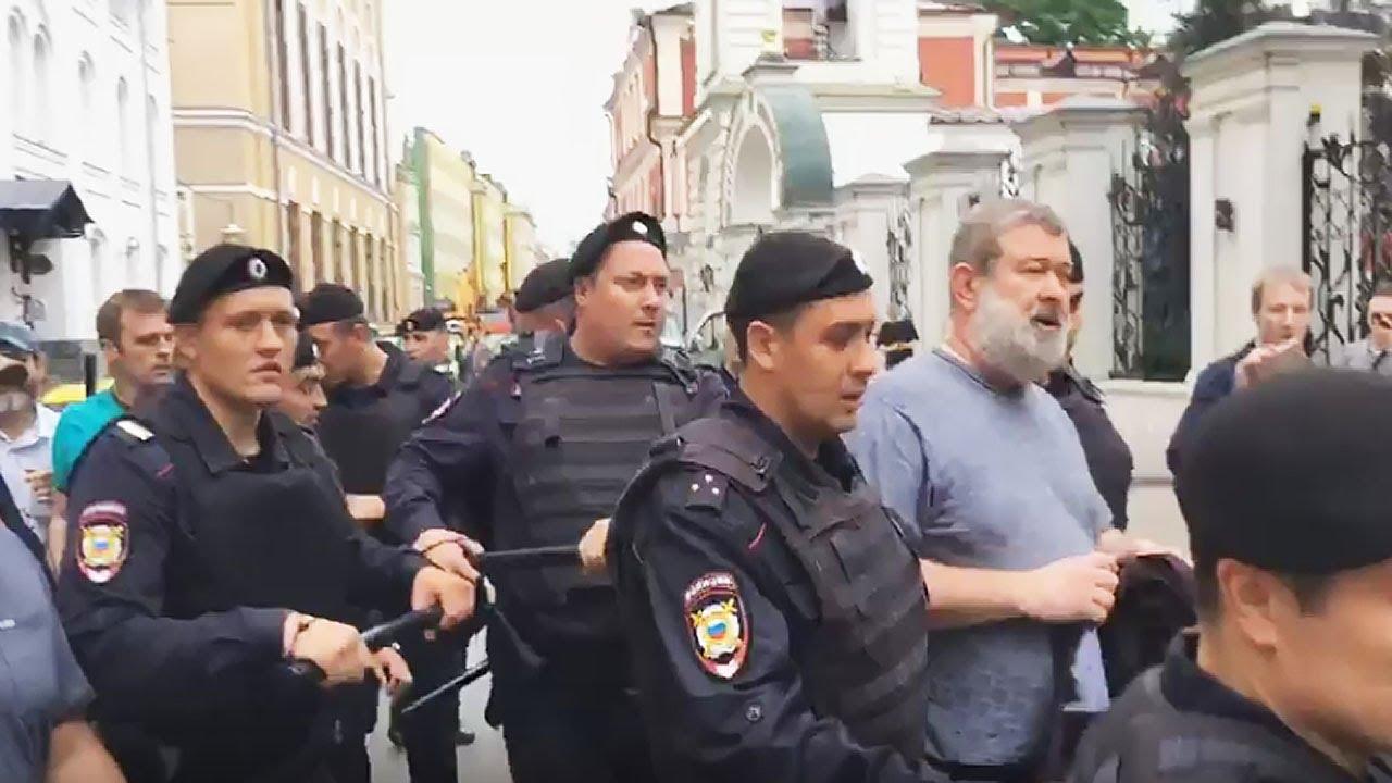 На митинге 12 июня задержан Вячеслав Мальцев