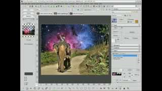 Creating a Composite in Focus Photoeditor