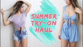 SUMMER TRY ON HAUL | Summer Clothing Haul