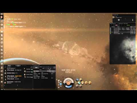 Eve Online - Running slaves in a Crane blockade runner (Part
