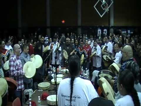 Tanner Albers Round Dance Song February 11, 2012