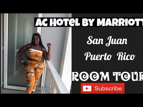 Ac Hotel By Marriott San Juan Puerto Rico| Room  Tour