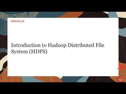 Introduction To Hadoop Distributed File System Hdfs Youtube