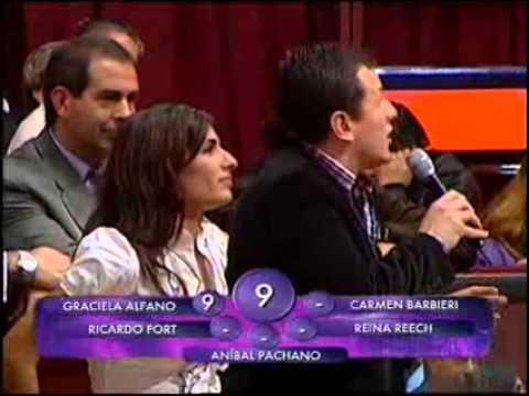 Showmatch 2010 - Fort y Alfano, duros en la devolución