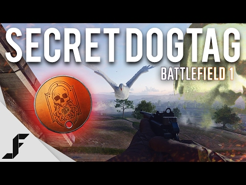 SECRET UNLOCK - How to Unlock the New Beginning Dogtag Battlefield 1