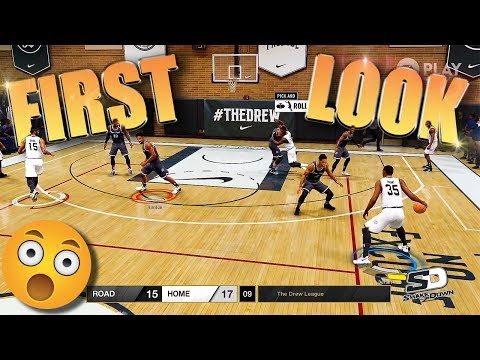 FIRST LOOK At NBA LIVE 18 DREW LEAGUE Gameplay REVEAL - Xbox One FULL HD
