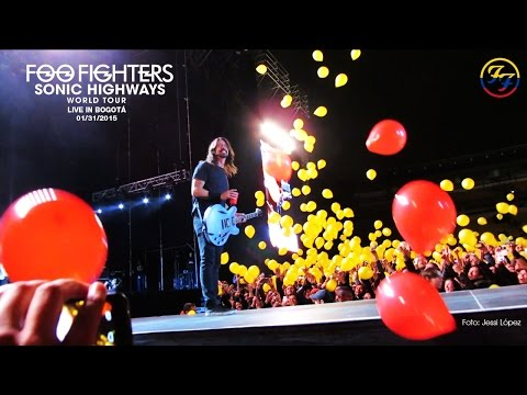Foo Fighters Live in Bogotá Full Concert (Multicam) 720p