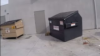DUMPSTER DIVING- WE WENT TO 10 BIG CORPORATE STORES